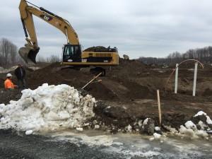 excavation CM2
