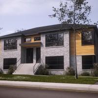 Les condos à Granby construit par les habitations Jonathan Roy.